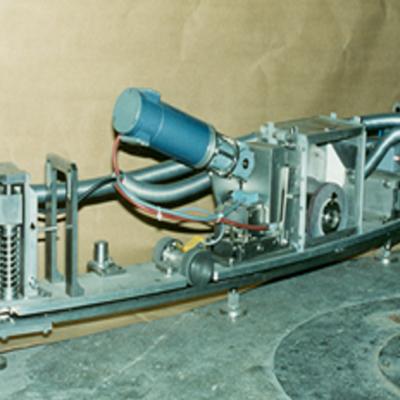 Wartung - RDB-Dichtflächenreinigungsmaschine