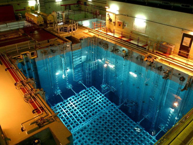 Nuclear pool cleaning